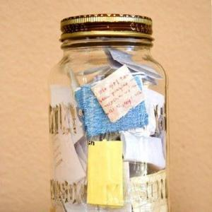 In 2013 every time something good happens, write a note and fill a jar