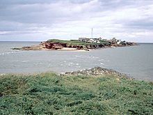 Off shore island, a great nature reserve you can walk to at low tide.