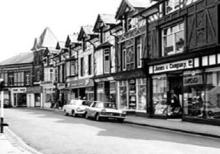 The Crescent shops in 1967