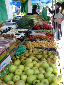 Colourful markets with plenty of fresh products