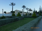 Seafront gardens all pruned into shape