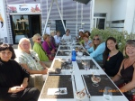 Ladies at lunch in the Spanish sun