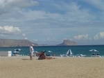 Busy Albir Beach