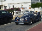 Vintage cars on Spanish streets