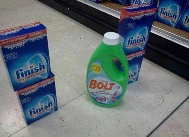 Finish and Bolt