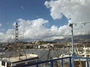 Harbour back to Albir