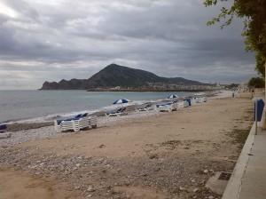 Beach towards Albir
