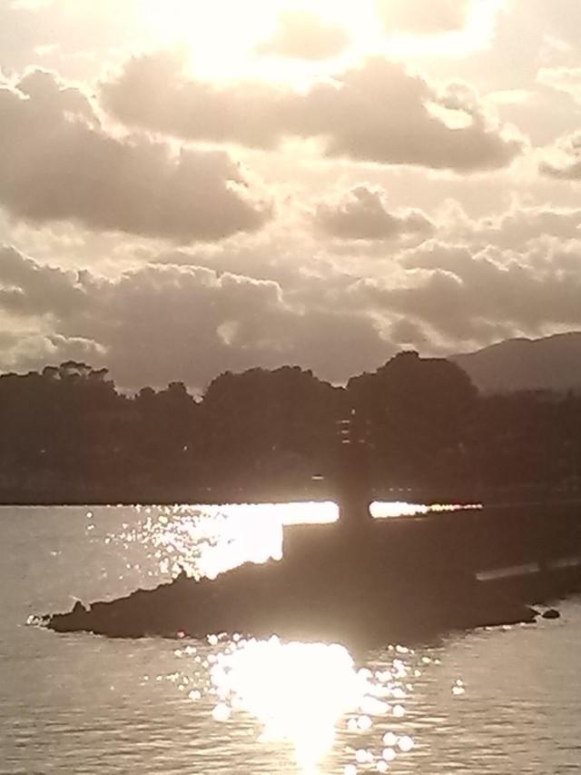 Sunset Altea Harbour