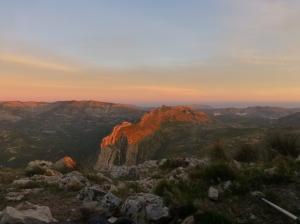 Sunrise from Mount Bernia