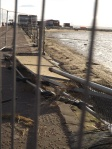 West Kirby Victorian Promenade and the storm damage
