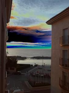 Morning sunrise over Altea