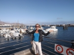 Sunny day on Lanzarote