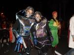Futuristic costumes using snorkel tubes! Lanzarote Carnival