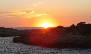Menorcan Sunset at Sa Caleta