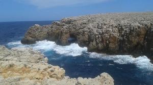 Stunning Menorca shoreline